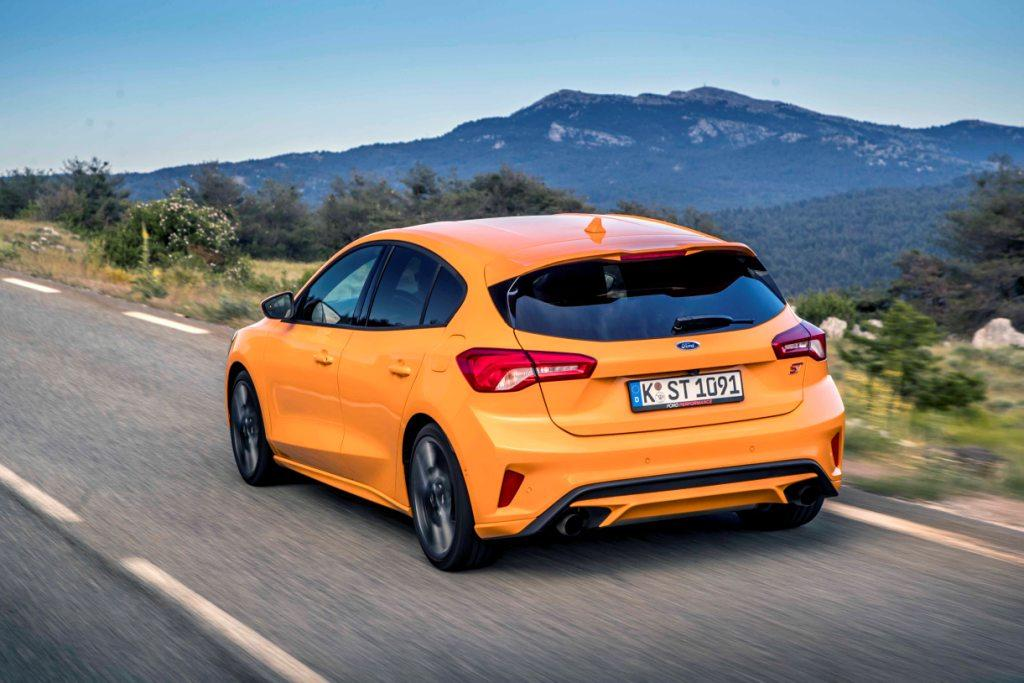 Orange Fury Focus ST