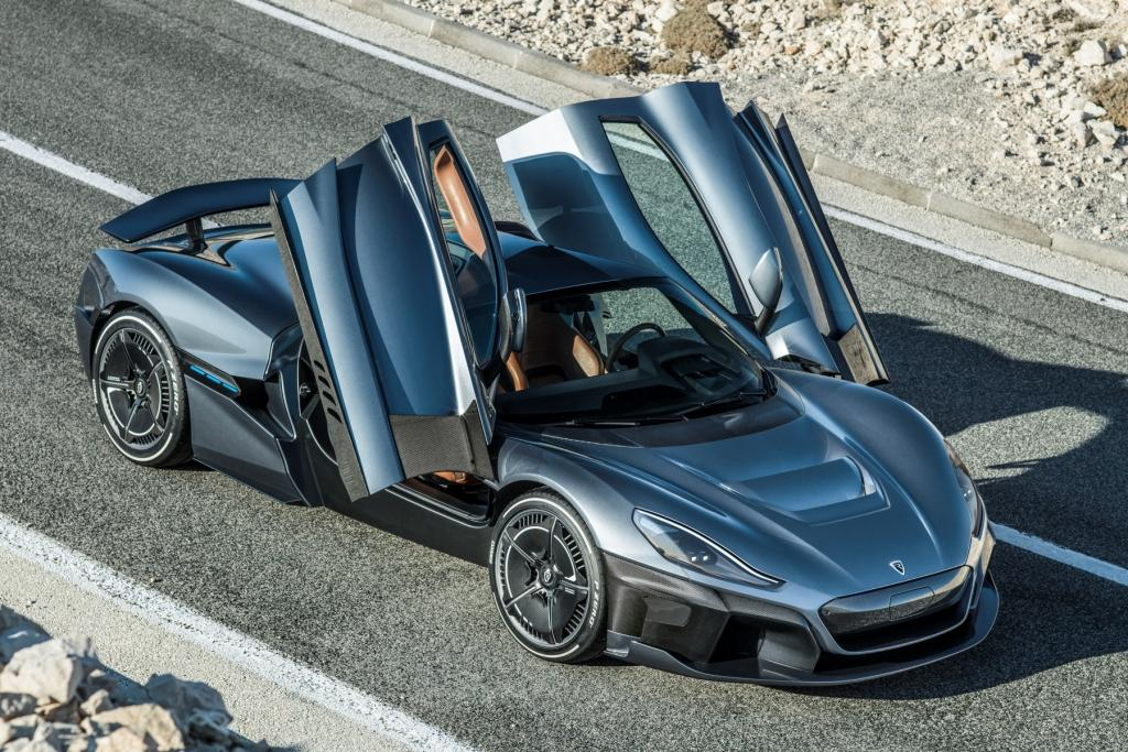 The all-new Rimac C_Two hypercar