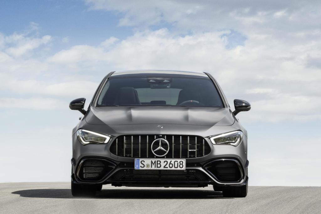 The new Mercedes-AMG CLA 45 4MATIC+ Shooting Brake