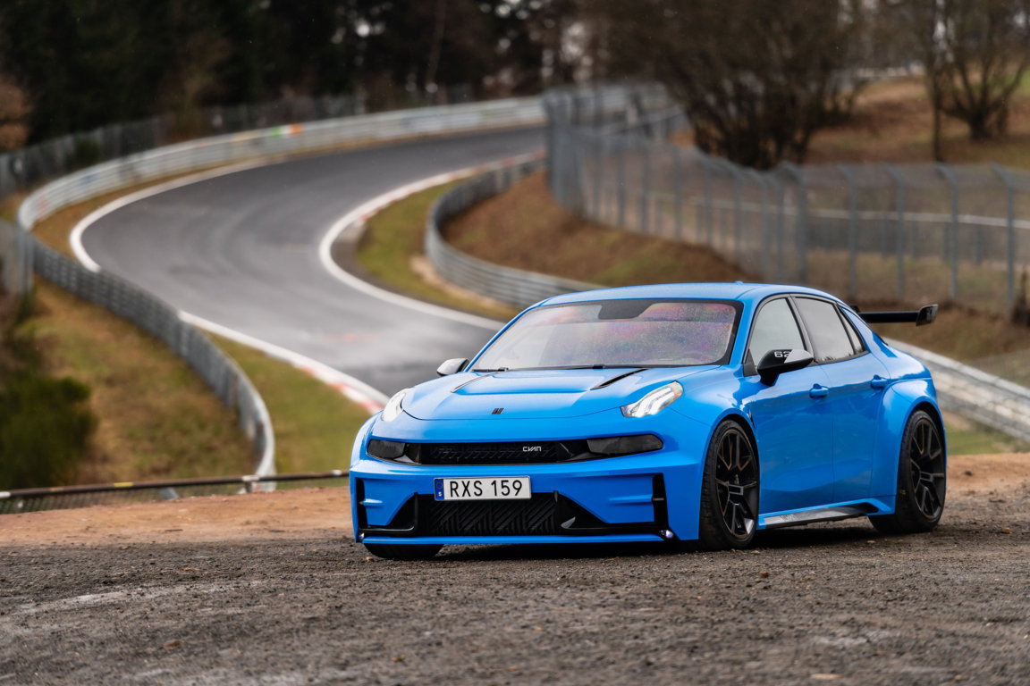 Cyan Racing breaks two Nürburgring records with the 528-hp Lynk and Co 03 Cyan Concept
