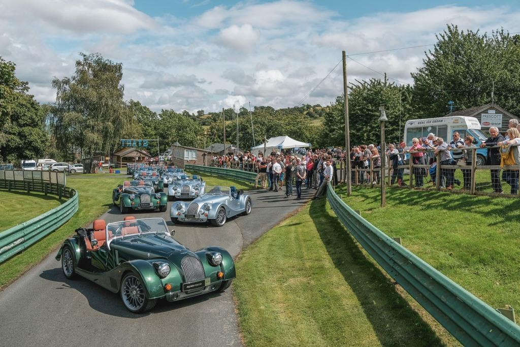 Morgan Motor Company delivers its first Plus Six demonstrators to UK Dealership network