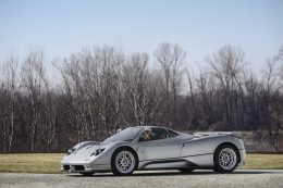 Pagani Automobili to showcase a 5 model Zonda display at Salon Privé