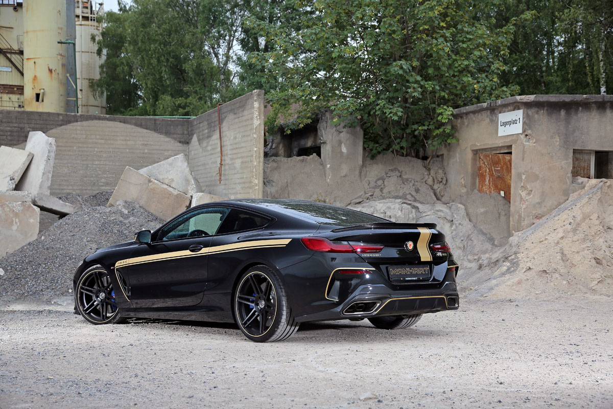 The MANHART MH8 600 BMW M850i