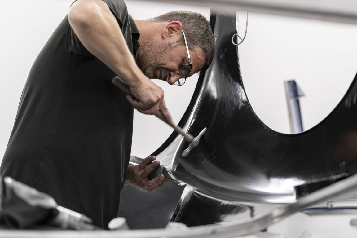 The handmade Aston Martin DB4GT Zagato Continuation