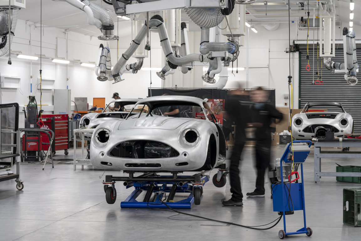 The handmade Aston Martin DB4GT Zagato Continuation