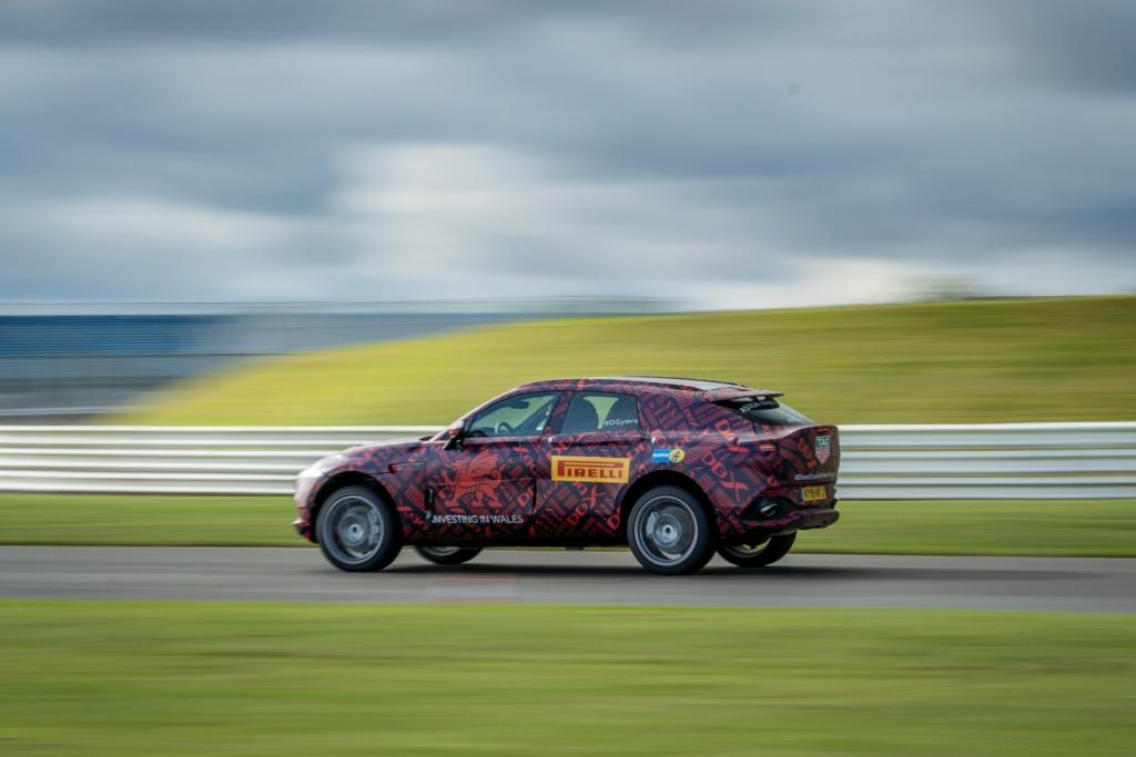 Aston Martin's first SUV powers into final stages of development