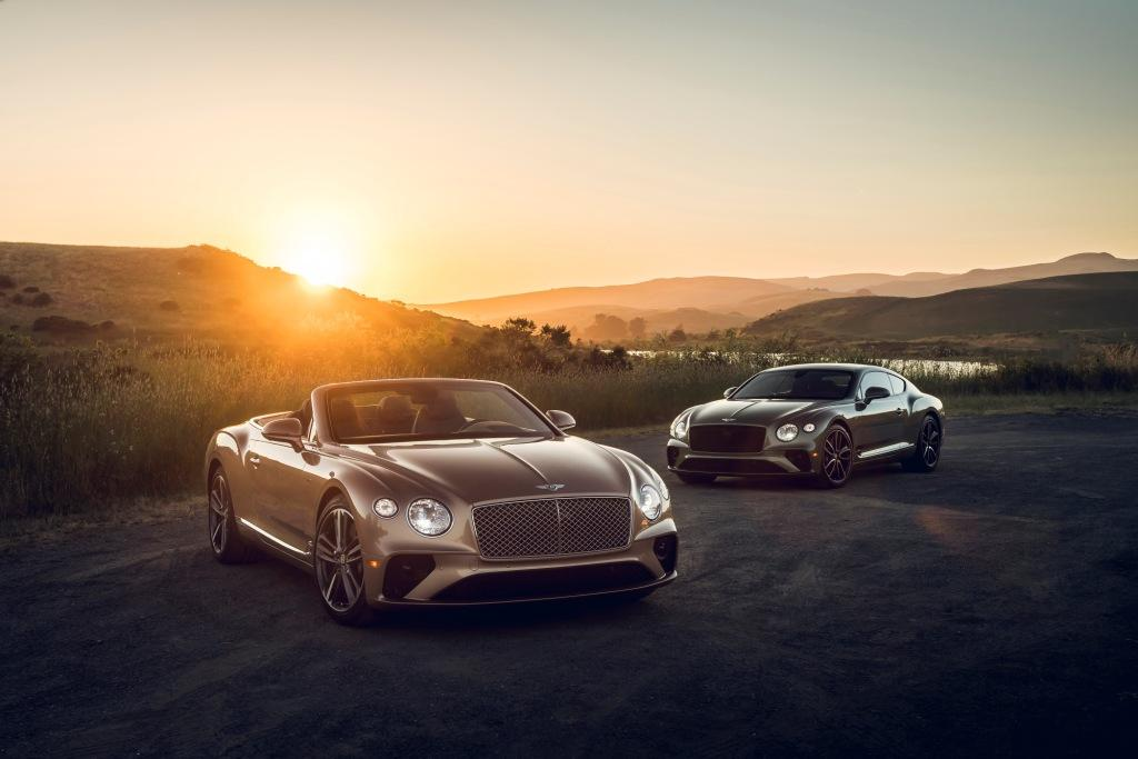 Bentley announces details of new model year Continental GT as V8 derivitive arrives