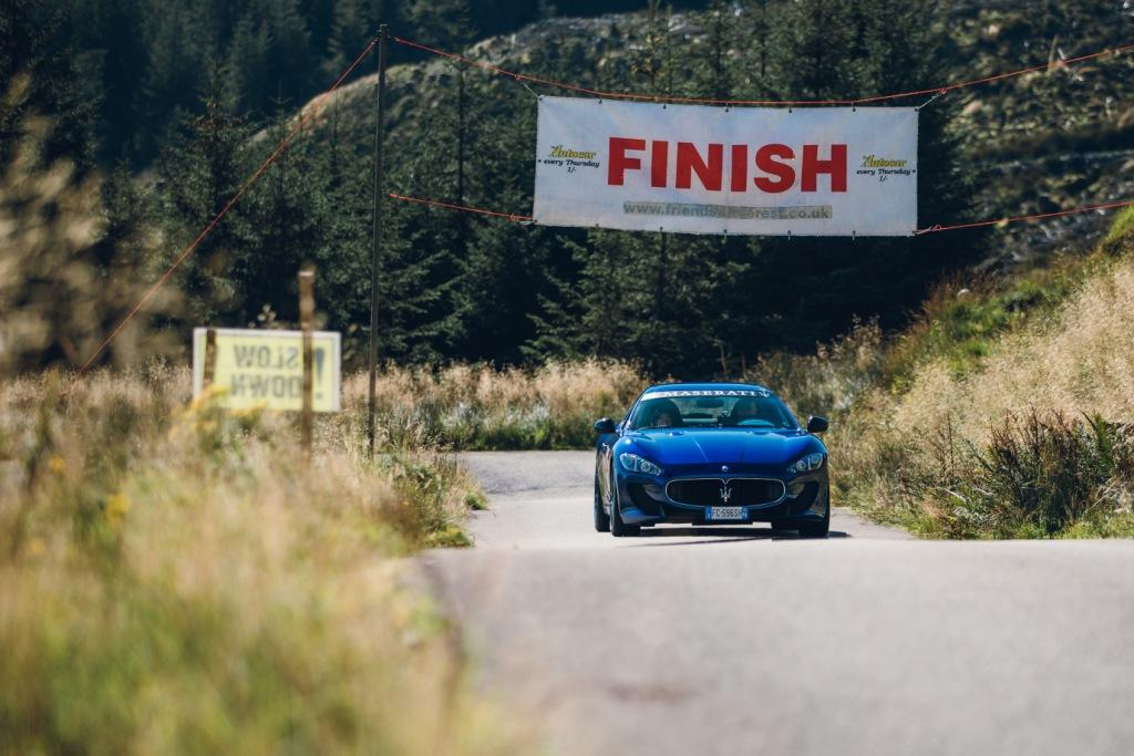 Maserati enthusiasts visit Scotland for landmark 40th Maserati International Rally