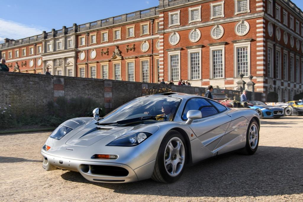 MSO restored F1 road car and McLaren Senna share the spoils at prestigious UK automotive events