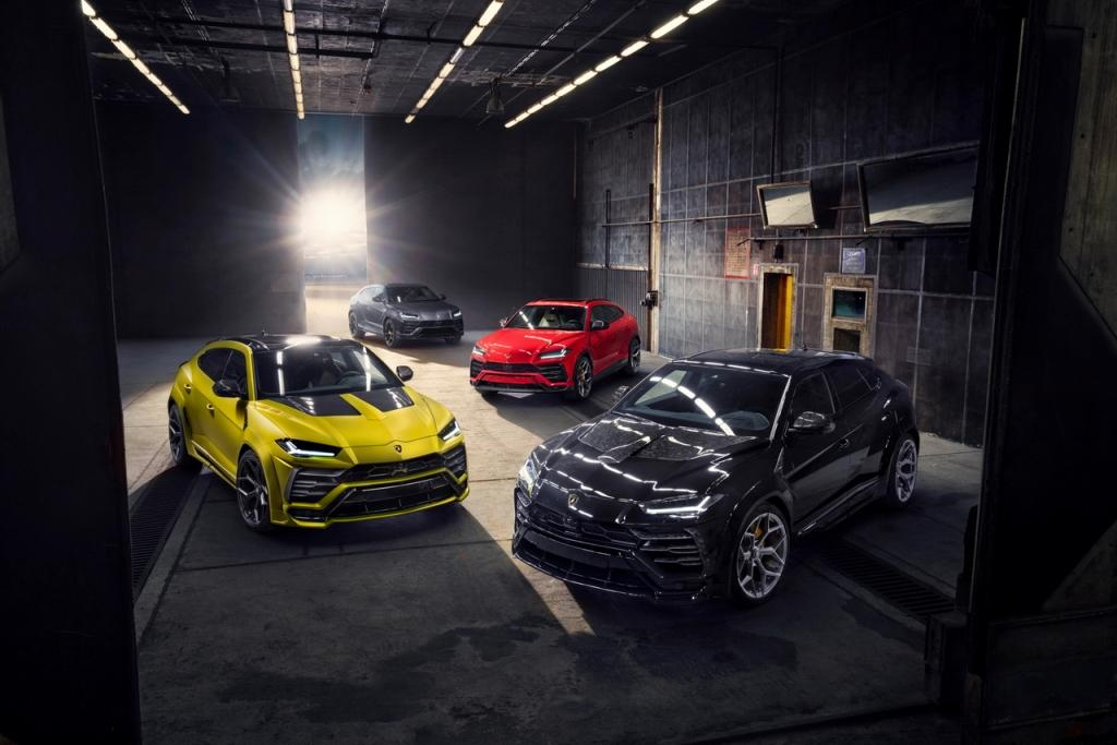 NOVITEC makes the Lamborghini Urus even more thrilling