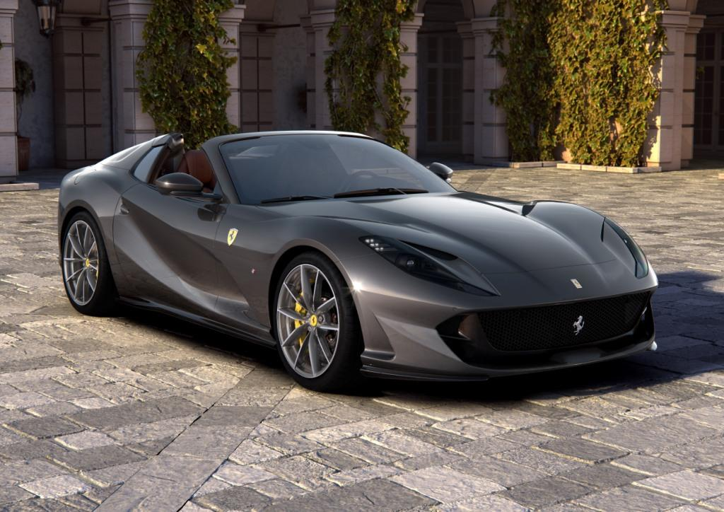 The Ferrari 812 GTS V12 Spider returns