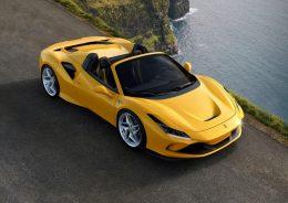 The Ferrari F8 Spider