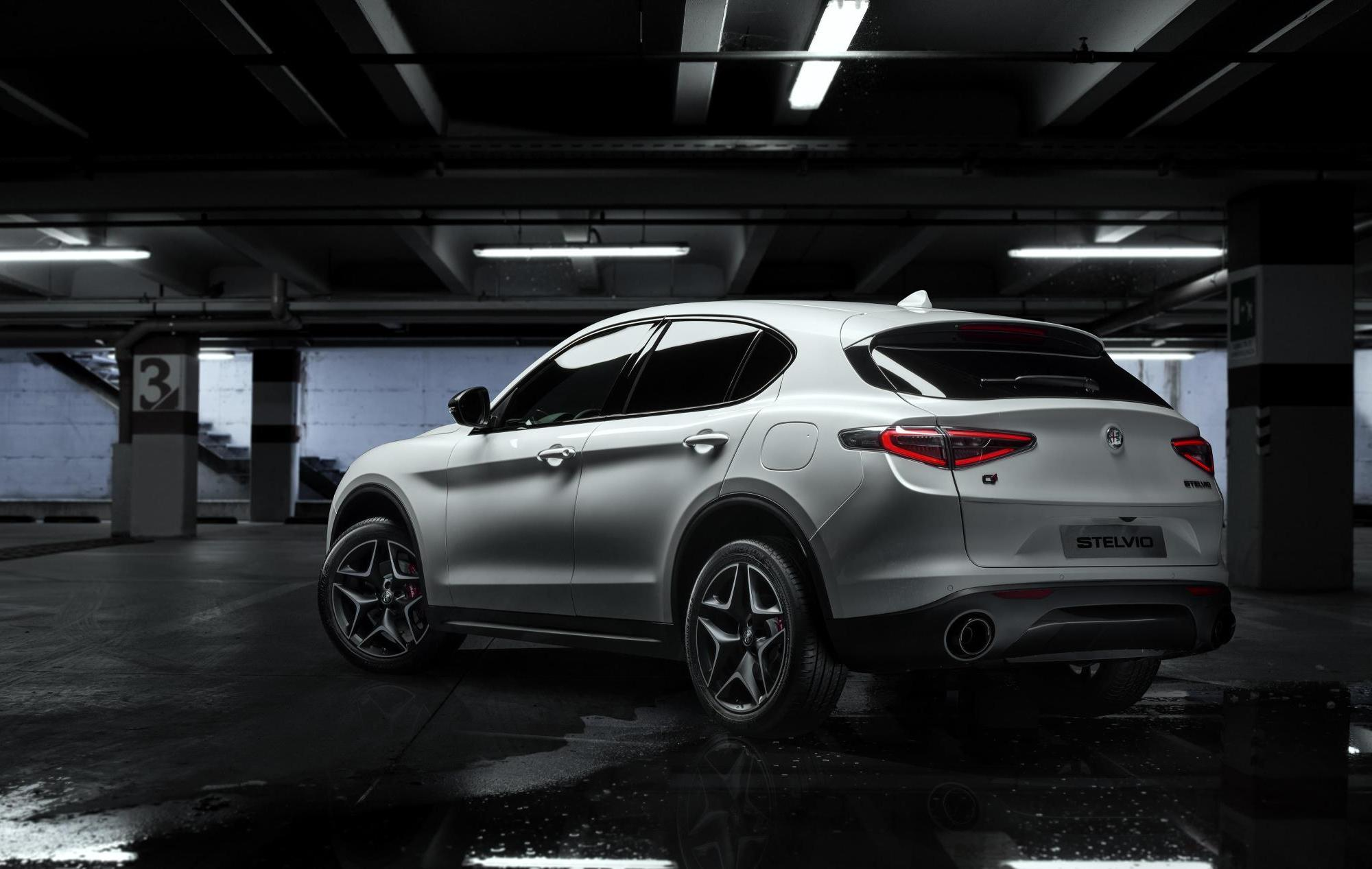 The new Alfa Romeo Stelvio Ti