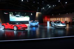 Universo Ferrari exhibition opens its doors