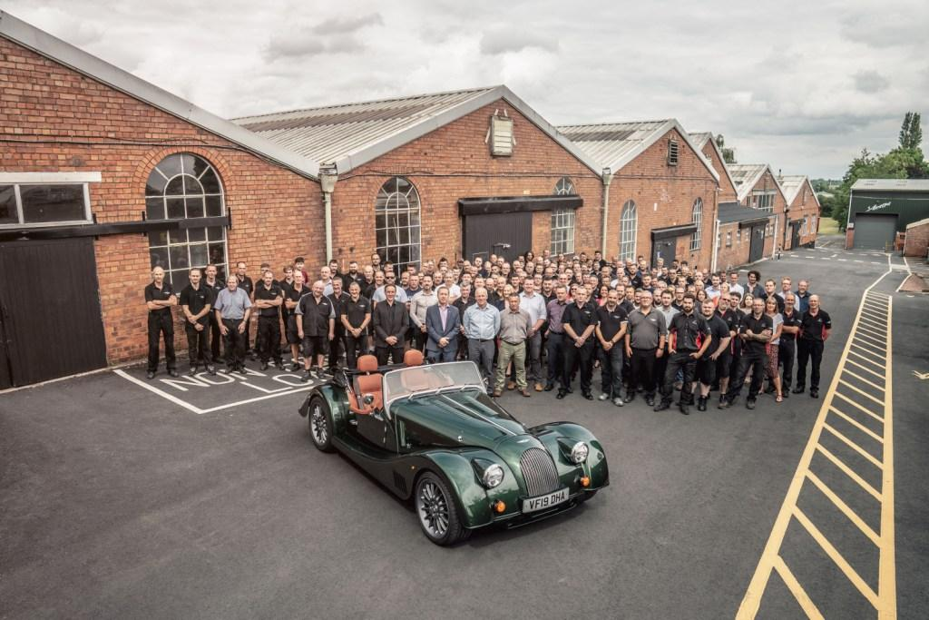 Morgan factory staff 2019