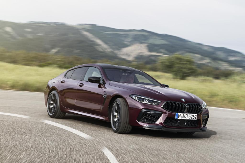 The new BMW M8 Gran Coupe and BMW M8 Competition Gran Coupe