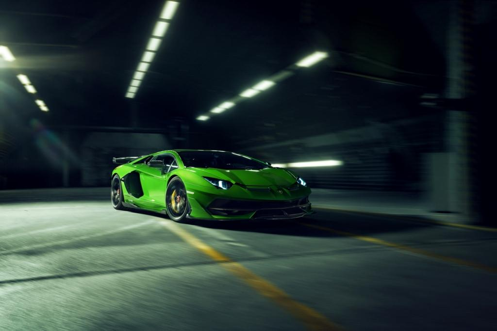 NOVITEC customizes the Lamborghini Aventador SVJ