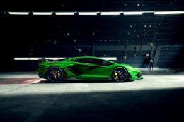 NOVITEC customizes the Lamborghini Aventador SVJ