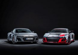 Audi R8 V10 RWD and the Audi R8 LMS GT4