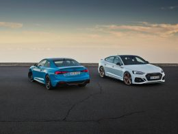 Updated Audi RS 5 Coupé and Sportback