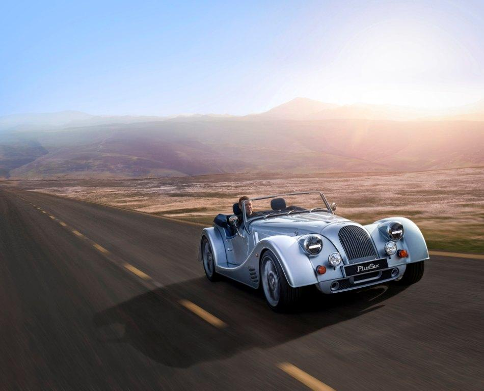 CURRENT Morgan Plus Six,