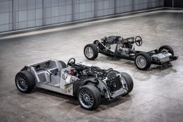 HERO Morgan CX-Generation platform and traditional steel chassis landscape