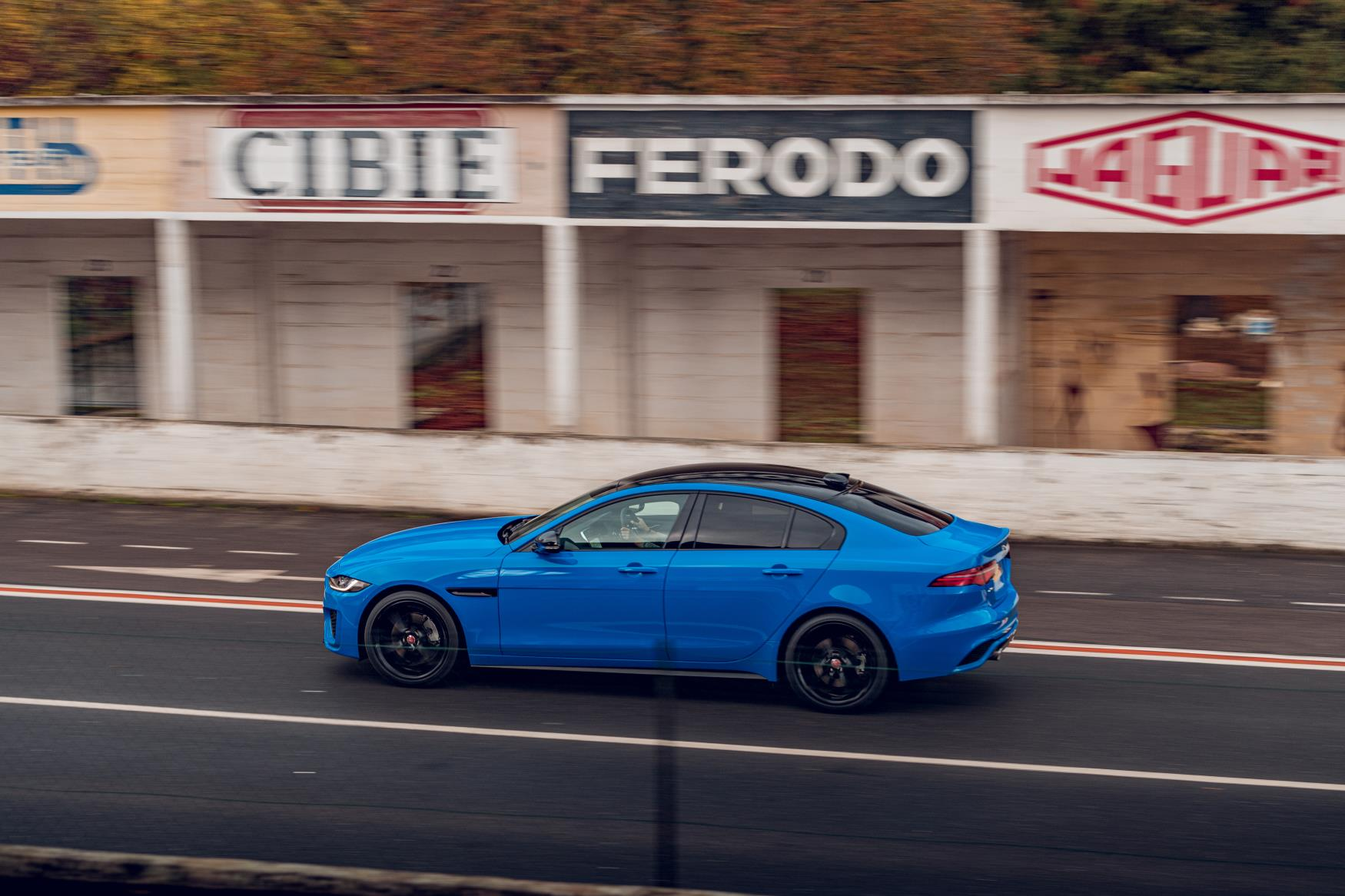 The Jaguar XE Reims Edition