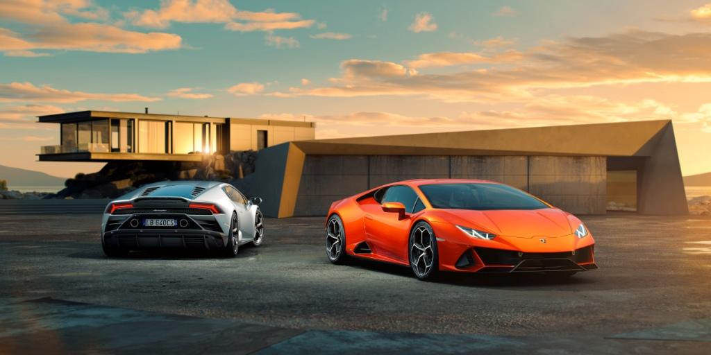 Lamborghini is first automaker to incorporate full in-car control by Amazon Alexa