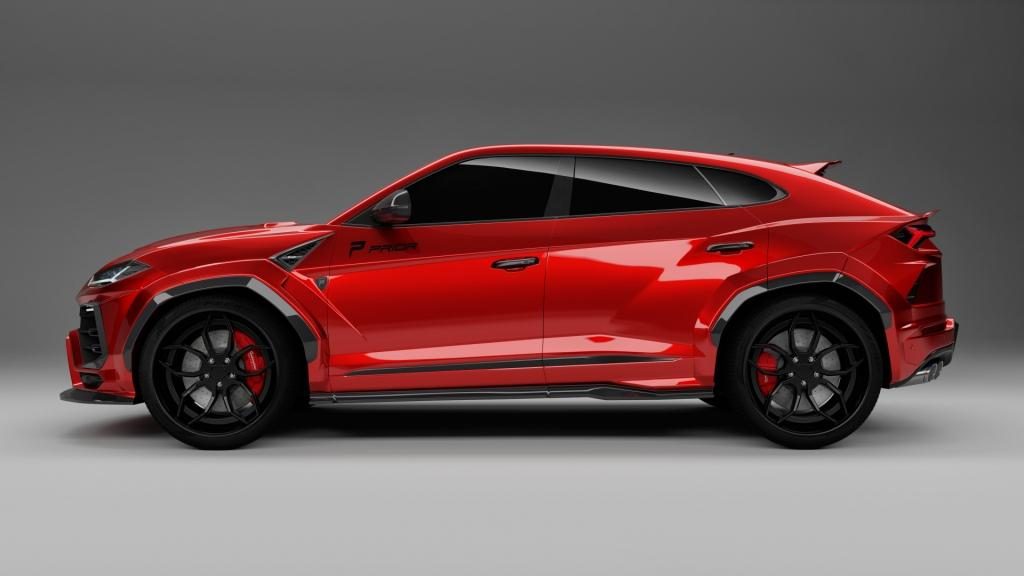 PRIOR-DESIGN Lamborghini Urus with Roberto Geissini design