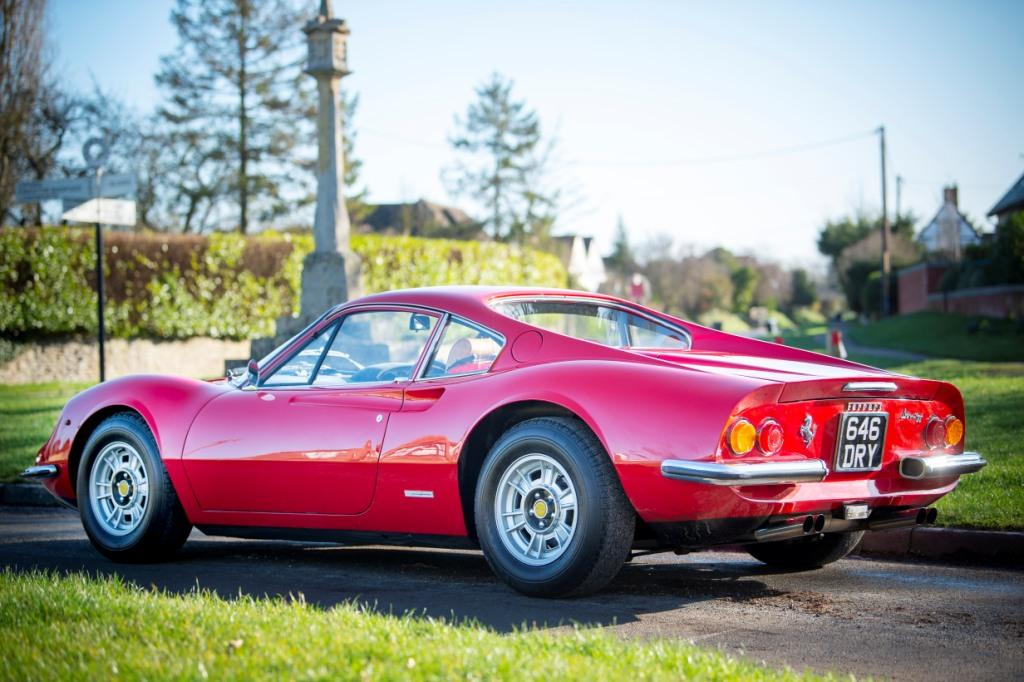 1973 Ferrari 246GT Dino up for auction