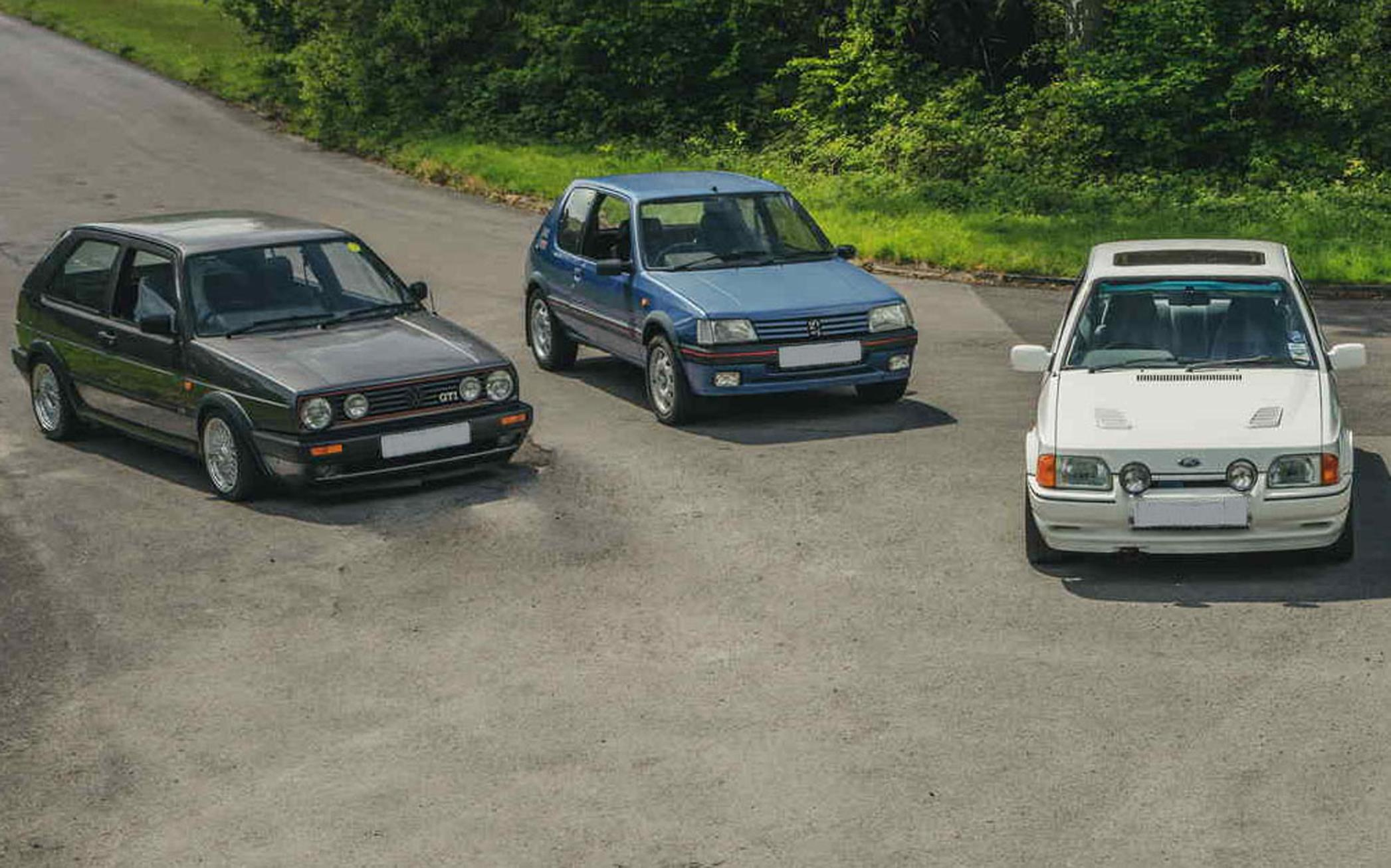 1980's hot hatches are hotter than modern supercars