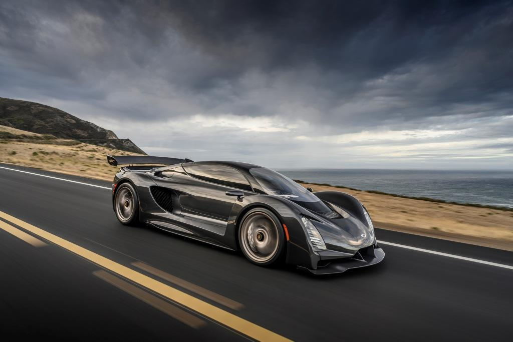 Debuting Czinger vehicles and the 21C hypercar