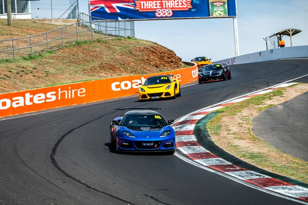 Lotus Cars Australia Bathurst Track Day 2020
