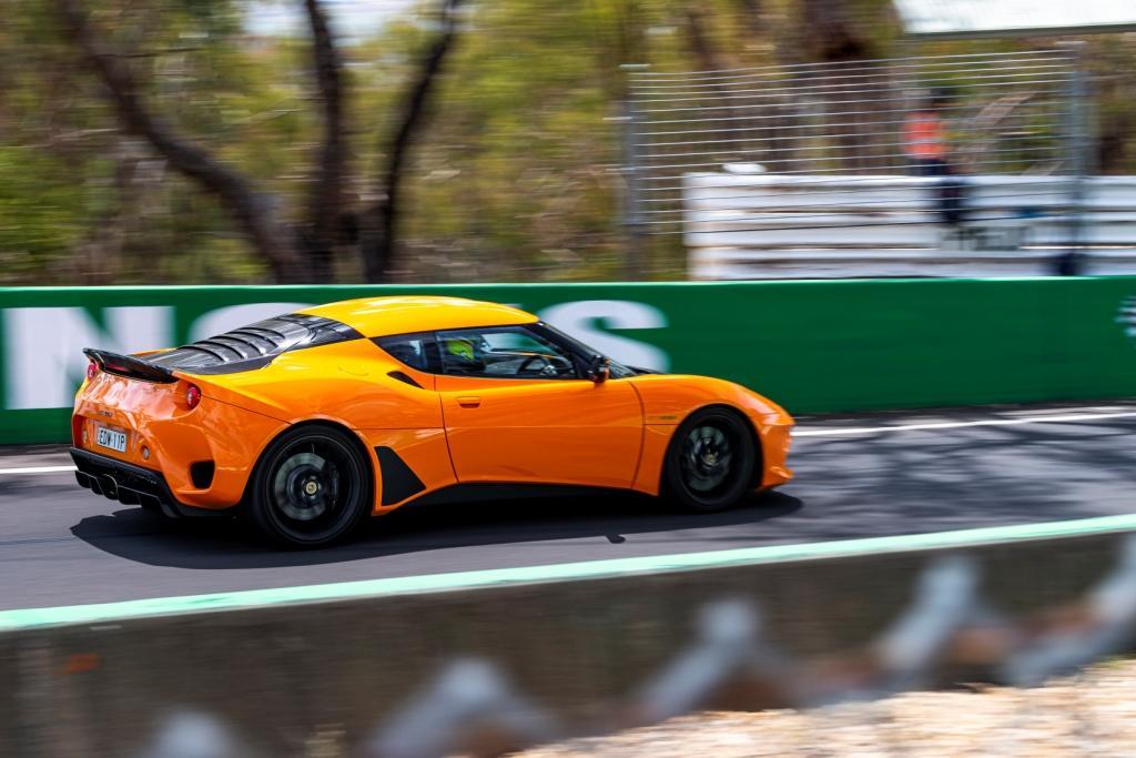 Grant Denyer Lotus Evora GT 410 Sport