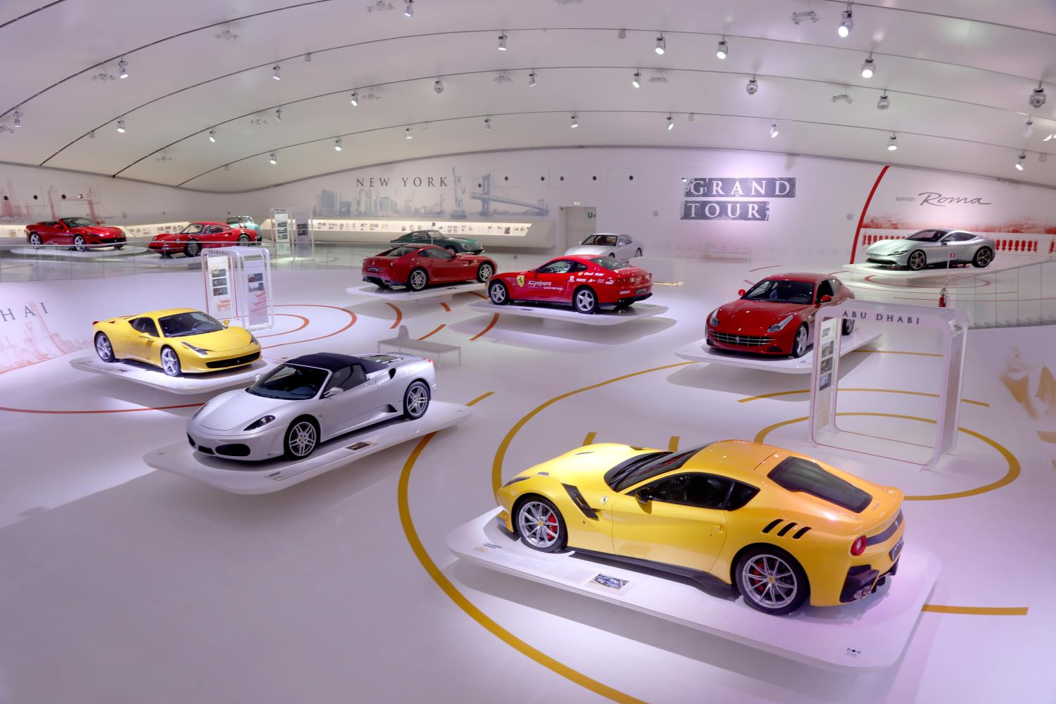 "The ""Ferrari Grand Tour, a journey through passion and beauty"""