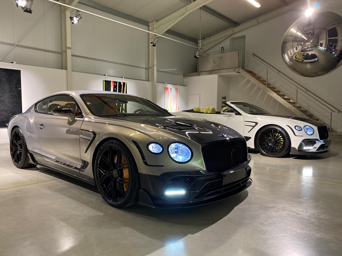 Keyvany Bentley Continental Gt And Gtc