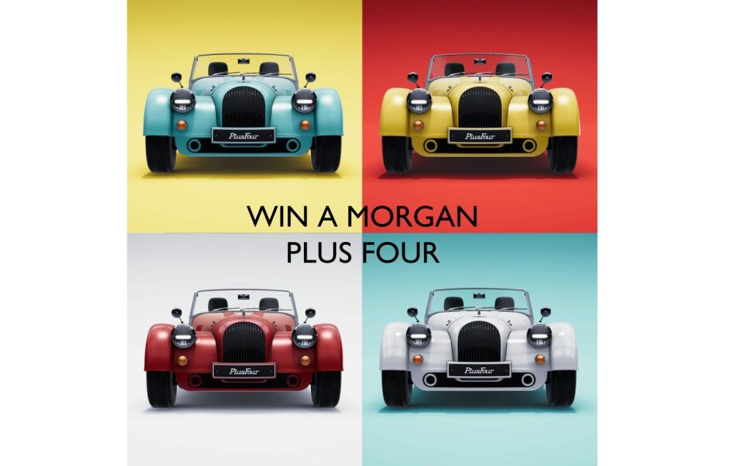 Morgan Motor Company donates all-new Plus Four to Comic Relief and BBC Children in Need for coronavirus relief
