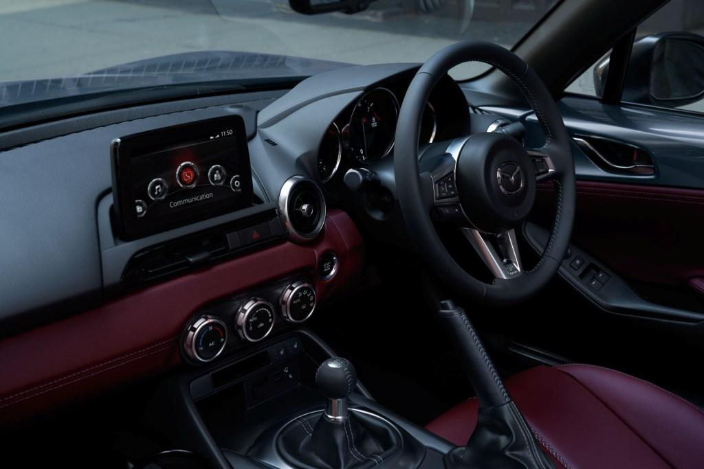 The new Mazda MX-5 R-Sport special edition