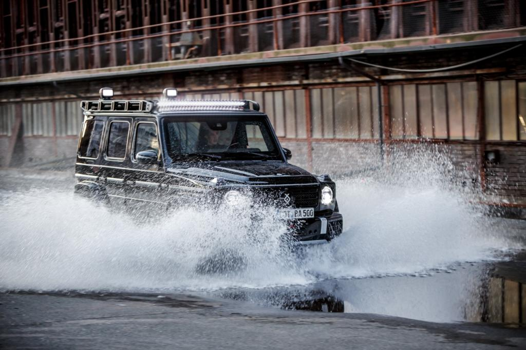 BRABUS INVICTO Mercedes-Benz G-Class armoured vehicle