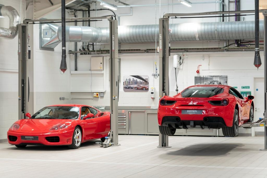 Ferrari opens two new service centres and showrooms in Newcastle and Kent