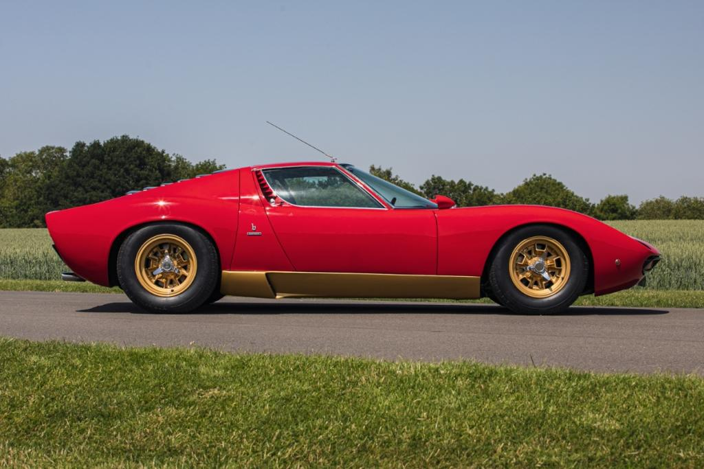 RHD 1972 Lamborghini Miura SV going up for auction