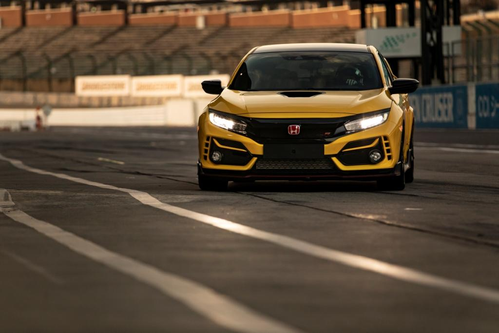 Honda Civic Type R Limited Edition sets new lap record at iconic Suzuka Circuit
