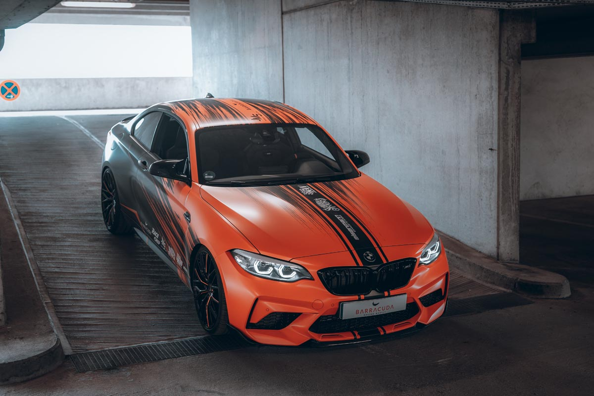 JMS BMW F87 M2 Competition