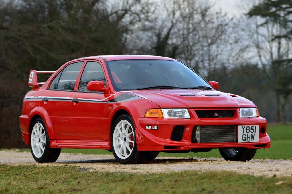 20 years since the official UK launch of iconic Mitsubishi Lancer Evolution