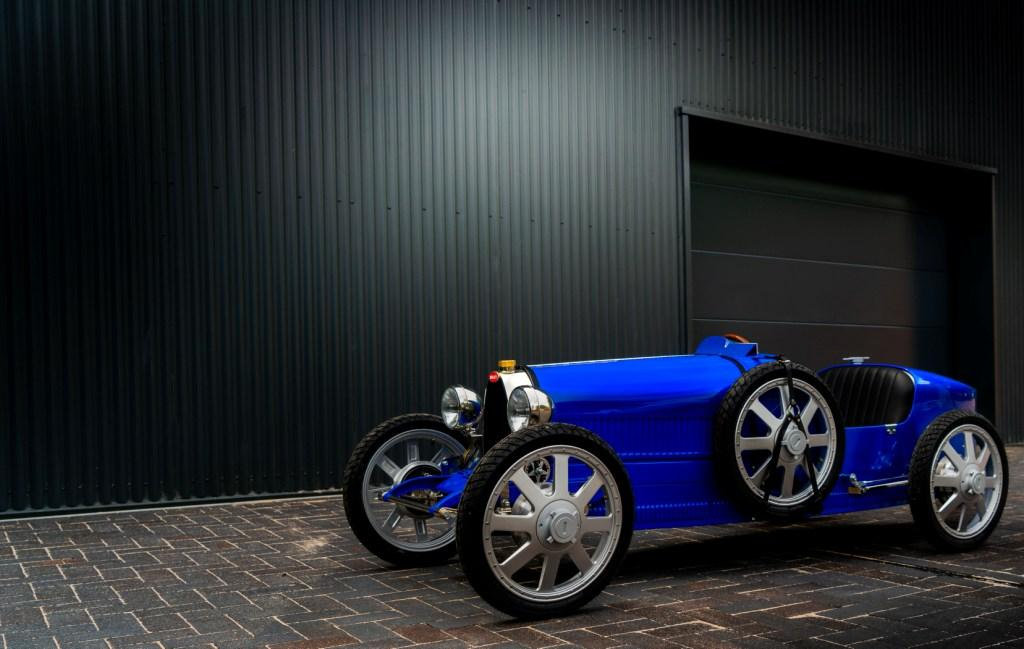 New Bugatti Baby production commences