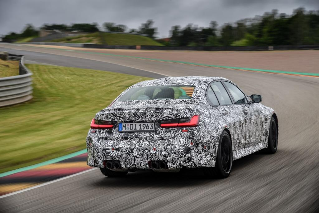 The new BMW M3 Saloon