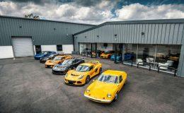 Triple celebration for the world's longest serving Lotus dealership