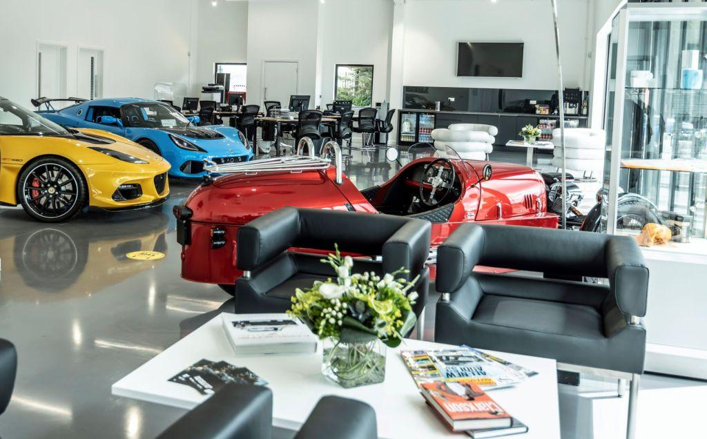 Triple celebration for the world's longest serving Lotus dealership