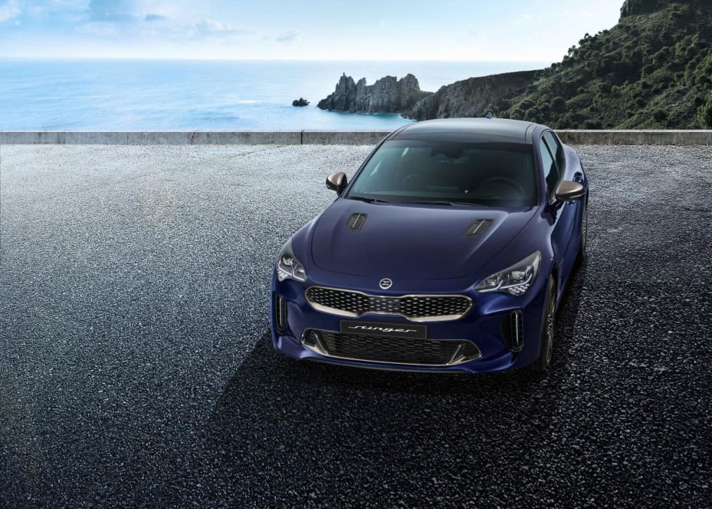 More tech, power and safety for upgraded Kia Stinger