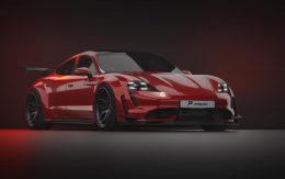 PRIOR-DESIGN Wide body kit for the Porsche Taycan